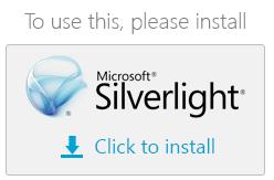 Install Microsoft Silverlight